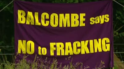 Fracking creates UK fissures