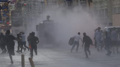 Turkish police evacuate Taksim Square