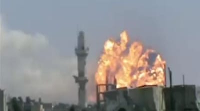 Reports: Deadly explosions hit Syria's Homs