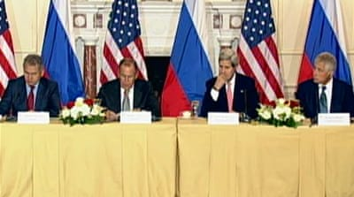 'No Cold War' between Russia and US