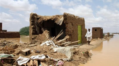 Many dead in Sudan floods