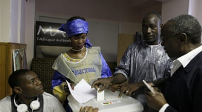 Malians voting in presidential run-off