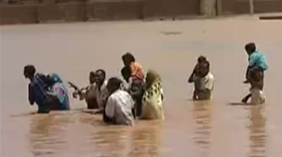 Campaign for Sudan flood victims moves online