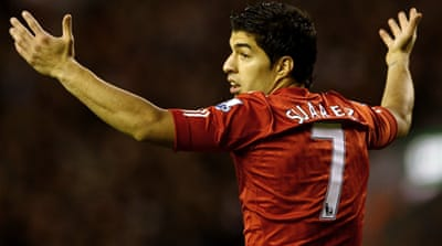Suarez trained with team mates in Thailand in July but was later ordered to train alone [Reuters]