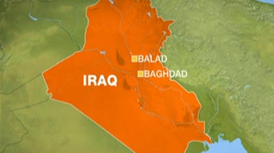 Suicide attack hits cafe in central Iraq