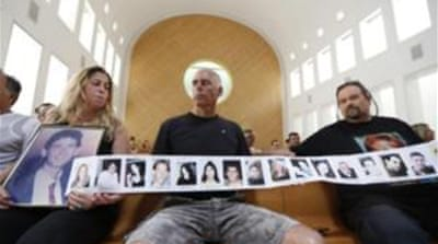 Bereaved Israeli families protested Israel's decision to release Palestinian prisoners [Reuters]