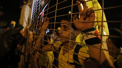 Palestinian-Israelis grapple with prison time