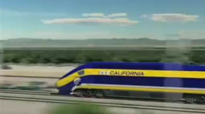 US billionaire unveils high speed train idea