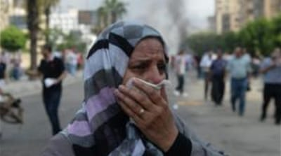 Global condemnation of Egypt crackdown