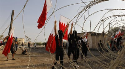 "Inspired by Egypt's ""Tamarod"" movement, pro-democracy activists in Bahrain called for protests on August 14 [AP]"