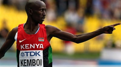 Kenya are the dominant force in men's steeplechasing with Kemboi laying a strong claim to be the best ever [AFP]