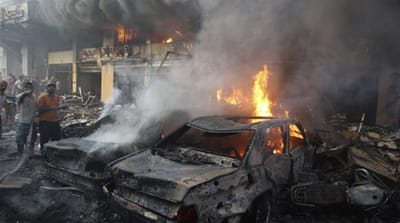 Car bombing rocks Hezbollah bastion in Beirut