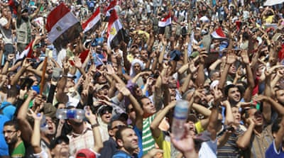 Among the protesters against the military crackdown are Egyptians who supported Morsi's overthrow [Reuters]