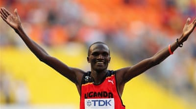 Despite 2012 Olympic title, Stephen Kiprotich wasn't the favourite to win in Moscow [GALLO/GETTY]