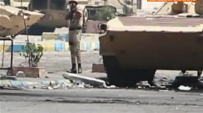 Footage suggests Egypt protesters shot at