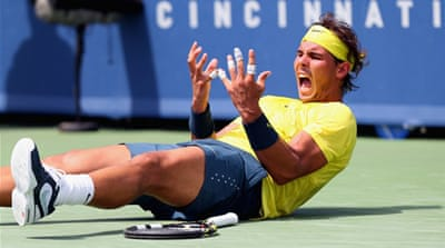Nadal's win gives him the favourite status for the US Open that starts at the end of August [AFP]