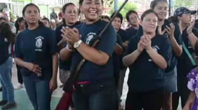 Mexico town creates female vigilante force