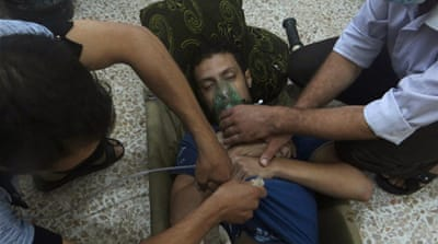 New footage emerges of Syria 'gas attack'