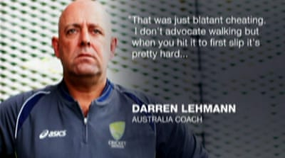 Lehmann labels Broad 'blatant cheat'