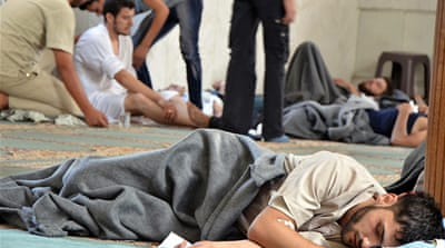 A likely chemical attack last week in Damascus killed more than 300 people and hurt many more [Reuters]
