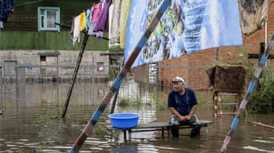 Extreme floods batter Russia's far east