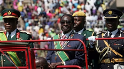 Mugabe sworn in as Zimbabwe president