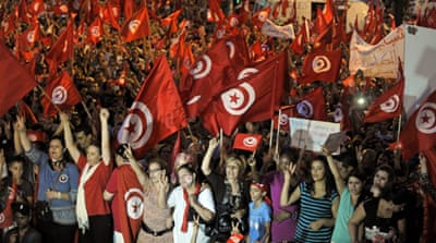 The opposition accuses the government of failing to rein in Tunisia's Islamists hardliners [AFP]