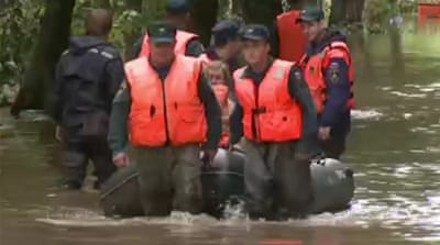 Russia battles major floods in far east