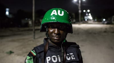 Mogadishu night patrol