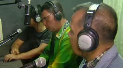 Thai radio station promotes peace in south