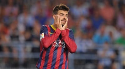 Barca's uninspiring mid-week win against Atletico Madrid in the Super Cup failed in inspire [AFP]