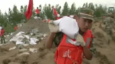 China braces for surge in flood waters