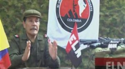 Announcement comes a day after the ELN rebel group released a Canadian hostage [Reuters]