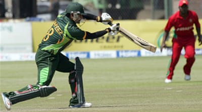 The three-match series is now tied after Zimbabwe beat Pakistan for the first time in 15 years on Tuesday [AFP]