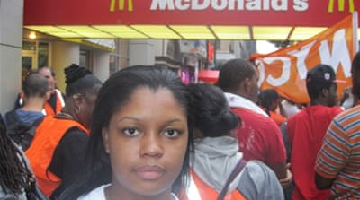 Fast-food workers strike in 60 US cities
