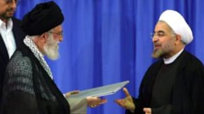 Iran supreme leader endorses next president