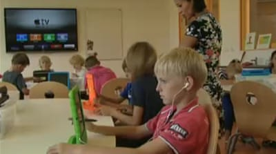 iPads take over Dutch classrooms