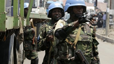 UN peacekeepers have been battling M23 rebels [Reuters]