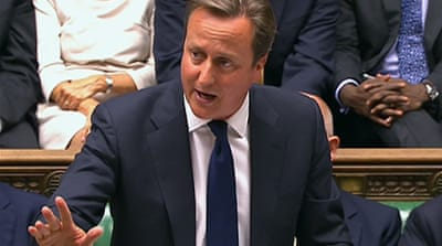 UK MPs reject military action against Syria