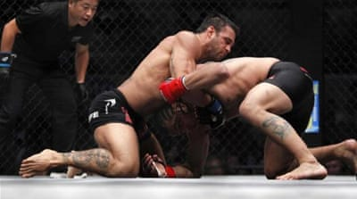 Ultimate Fighting Championship is helping to galvanise support and popularity for mixed martial arts [AP]