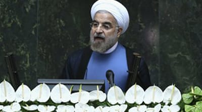 Rouhani urges West to abandon Iran sanctions