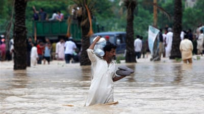 Pakistan has suffered devastating monsoon floods for the last three years [Reuters]