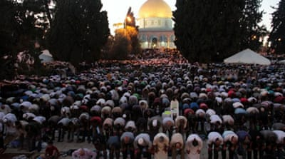 In pictures: Ramadan's holiest night