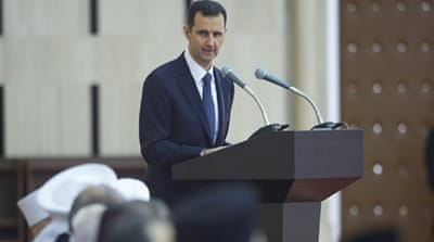 'The US faces failure just like in all the previous wars they waged,' Assad tells Russian paper [File photo/Reuters]