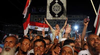 Egypt says no concessions to Morsi supporters