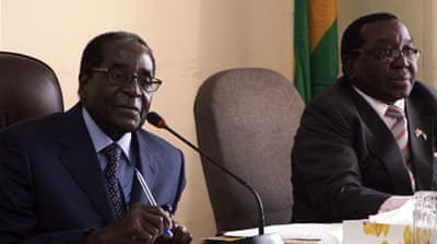 Mugabe told a meeting of ZANU-PF there would be no let-up in economic nationalism policies [Reuters]
