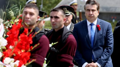 Georgia marks South Ossetia war anniversary