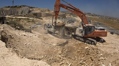 The Palestinians have repeatedly called for halt in settlement construction [Reuters]