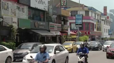 Asia's economic downturn hurts Malaysia