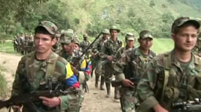 Obstacles line Colombia's peace route